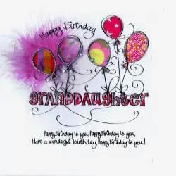happy birthday granddaughter card relation happy