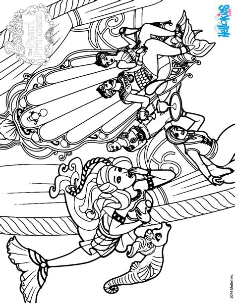 barbie pearl princess coloring pages printable coloring