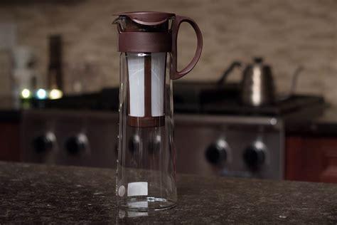 Hario Mizudashi Glass Coffee Tea Pot Mini Brown Mcpn 7cbr 600ml Hario Mizudashi Cold Brew Coffee Pot Tools And Toys