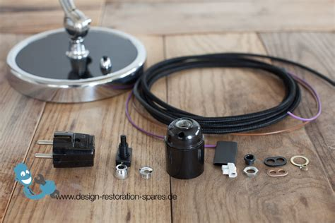 electrical rewiring electrical rewiring set for vintage kaiser idell 6631