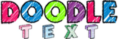 doodle text maker glitterbank text generator