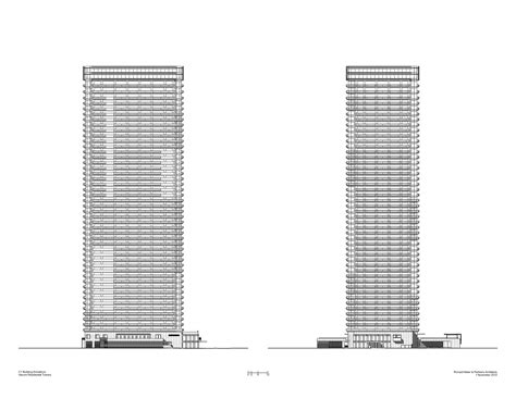 Rise Harumi gallery of harumi residential tower richard meier partners architects 14