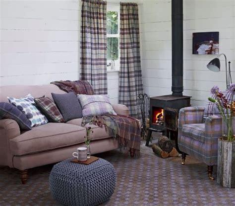 tartan sofa uk tartan style sitting room i love tartan and this looks so