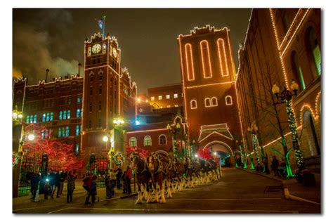 anheuser busch holiday lights 2014