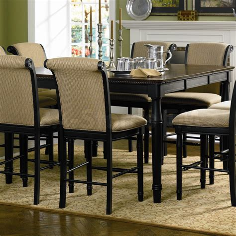 Coaster Co. Cabrillo Black Counter Height Table with Leaf