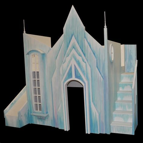 bunk bed castle frozen ice castle bunk bed
