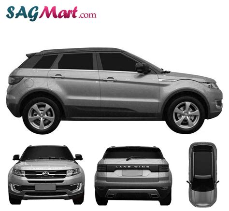 land wind e32 landwind e32 will wear the land rover evoque s