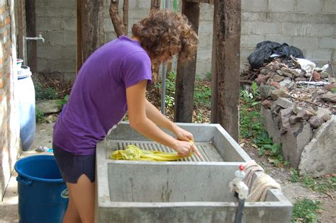 Washing In Style by Footnotes How To Wash Your Clothes Nicaraguan Style
