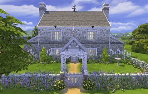 mod  sims georgian country cottage  cc  fernsims
