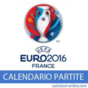 Calendario Serie A Orari Pdf Calendario Europei 2016 Tabellone Date E Ora Partite