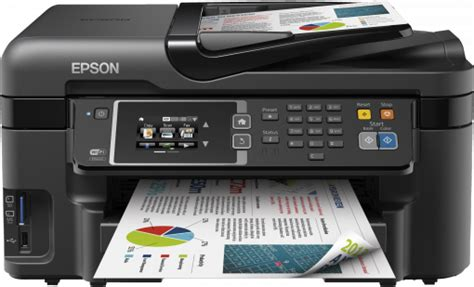 Printer Epson Wf 3620 workforce wf 3620dwf epson