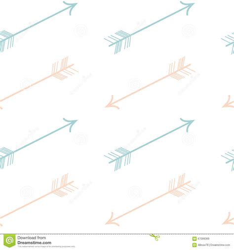 seamless multicolor arrow pattern stock vector image cute pastel color pink blue arrows seamless pattern