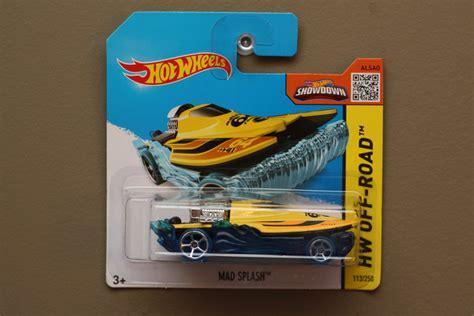 Wheels Hotwheels Mad Splash Yellow Th wheels 2015 hw road mad splash yellow blue