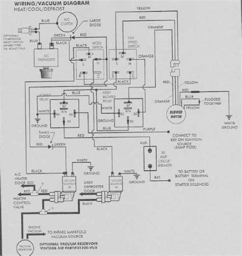 vintage diagram vintage air iv wiring diagram wiring diagrams wiring