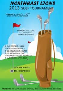 Golf Flyer Template by 15 Free Golf Tournament Flyer Templates Fundraiser