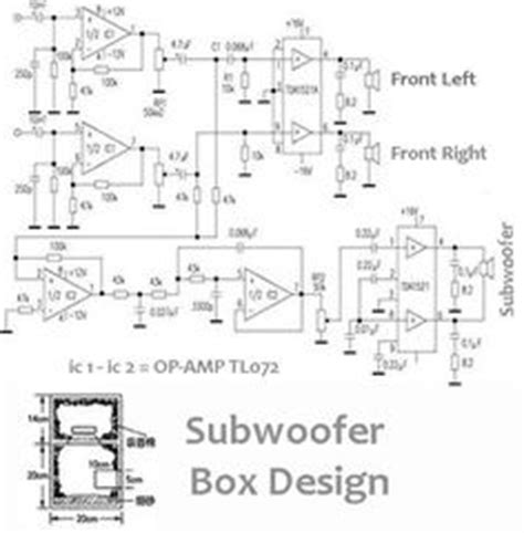 subwoofer home theater power amplifier circuit diagram