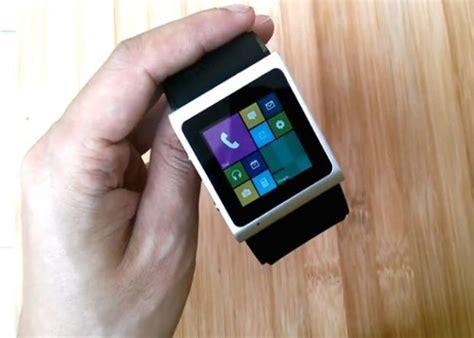 Smartwatch Windows goophone smart con android copia la interfaz de windows phone