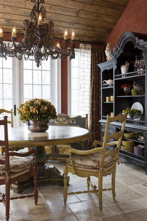 Country French Dining Rooms | french country dining room pictures photos and images