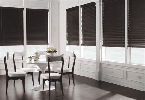 Levolor 2 Quot Premium Wood Blinds From Blinds Com Modern Dining Room Blinds