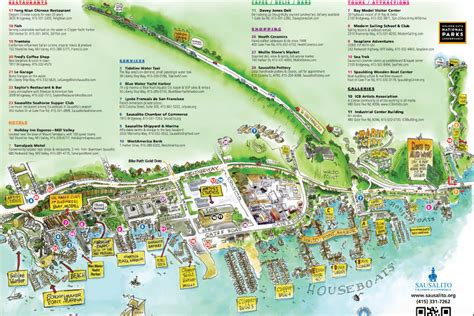 sausalito map best things to do in sausalito california food tours