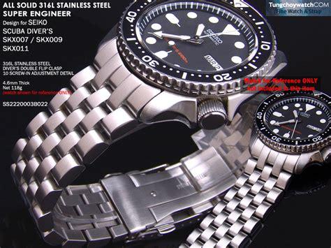 design engineer ii fs 22mm super engineer i ii or jubilee stainless steel