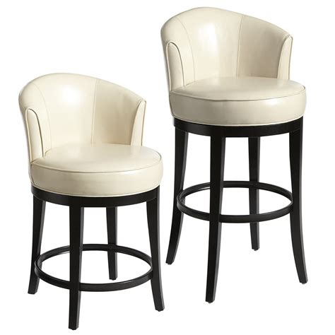 Back Bar Stools by Stools Design Stunning Swivel Counter Stools With Back