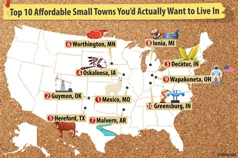 best small towns to live in top 10 affordable small towns for 2017 where you d want to