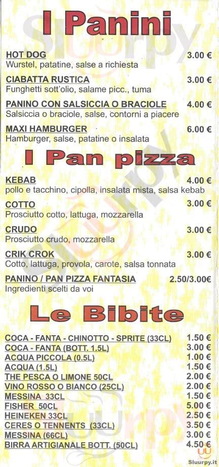 la casa della pizza messina 249 ristorante la casa della pizza messina via