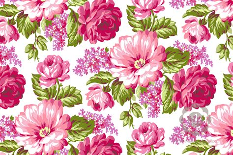 Color For Calm by Print Design Abundant Floral Melissamcculloch Com