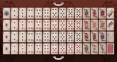 how to make deck of cards deviantart petit cavalier deck by joni s kurosujun