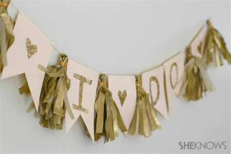 diy wedding banner - Wedding Banner Diy