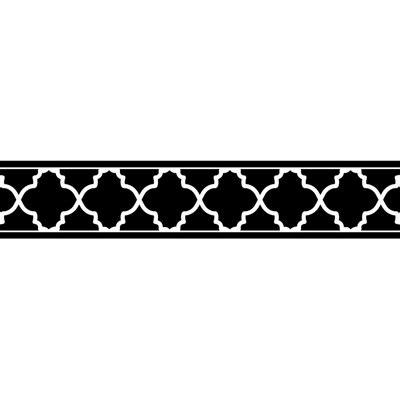 black and white wallpaper border trellis black and white collection wallpaper border