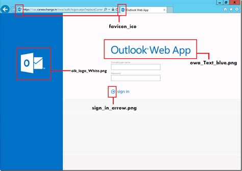 Web Developer Outlook by How To Customize Owa Login Page In Exchange 2016 Windowstechpro