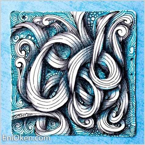 zentangle rope pattern it s so much fun to make twisted tangle ropes with