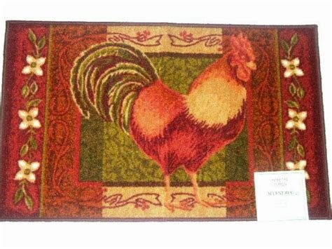themed kitchen rugs country rooster themed kitchen rug