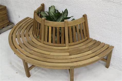 half tree bench half circular tree bench benches
