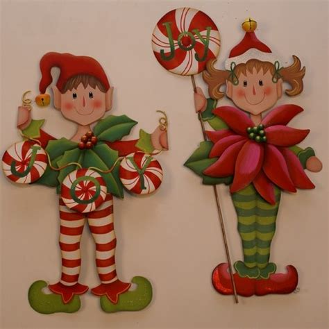 printable elf decorations christmas elves holiday decorations books by