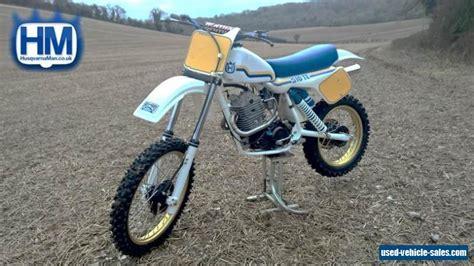 factory motocross bike for sale 1983 husqvarna 510 te for sale in the united kingdom