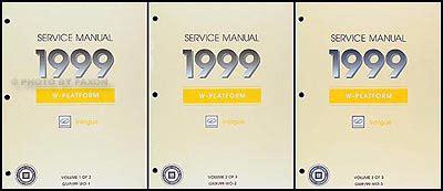 motor repair manual 1999 oldsmobile intrigue auto manual 1999 oldsmobile intrigue repair shop manual original 3 volume set