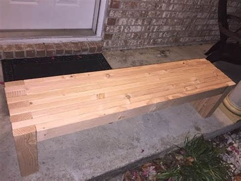 2x4 bench seat plans how to make simple a 2x4 bench seat woodworking diy