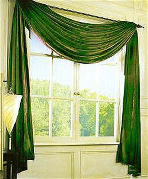 how to swag a curtain turquoise shed curtains
