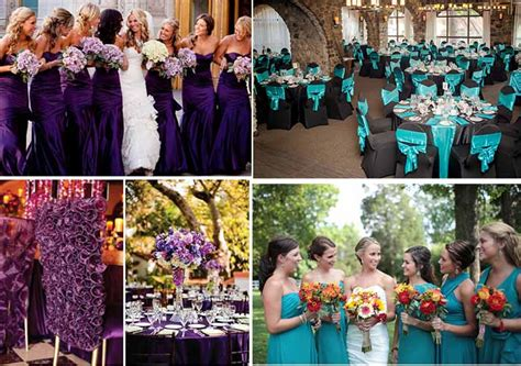 Purple Wedding Meme - purple and teal wedding party