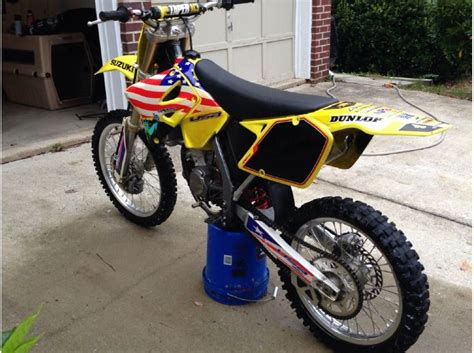 2002 Suzuki Rm125 2002 Suzuki Rm125 For Sale On 2040 Motos