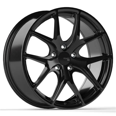 fast wheels fc04 painted black wheel 1010tires