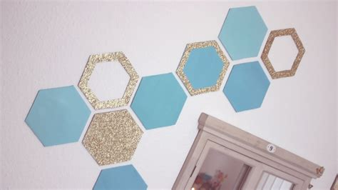how to make wall decor at home diy honeycomb wall decor easy recycling home decor idea