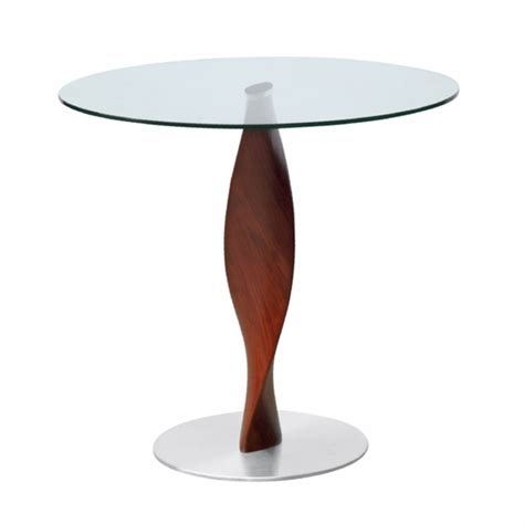 edge dining table edge 30 quot fiberglass dining table clear modern in designs