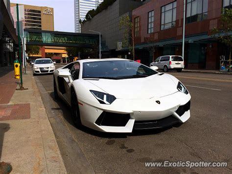 Lamborghini Edmonton Lamborghini Aventador Spotted In Edmonton Canada On 08 29