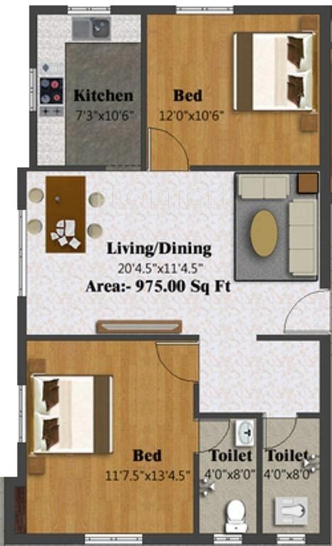 975 Sq Ft 2 Bhk 2t Apartment For Sale In S Promoters 975 Sq Ft 2 Bhk 2t Apartment For Sale In Charms India