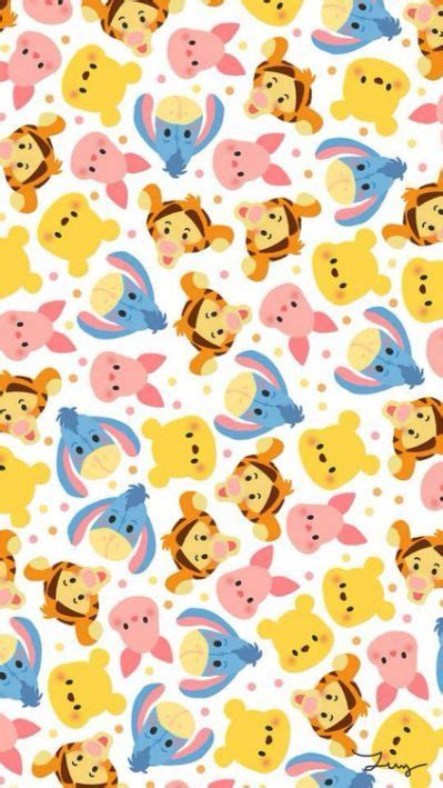 Piglet Pooh Tsum Tsum For Iphone 55s disney iphone backgrounds wallpapers disney backgrounds and iphone