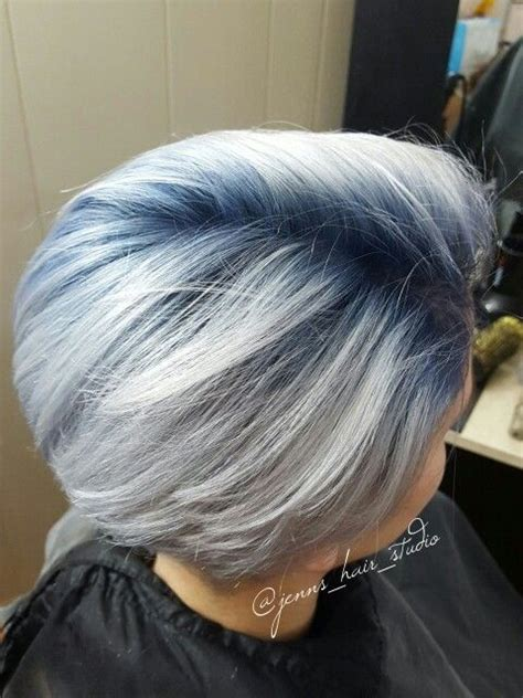 blue gray burr cut hair pixie haircut after chemo newhairstylesformen2014 com